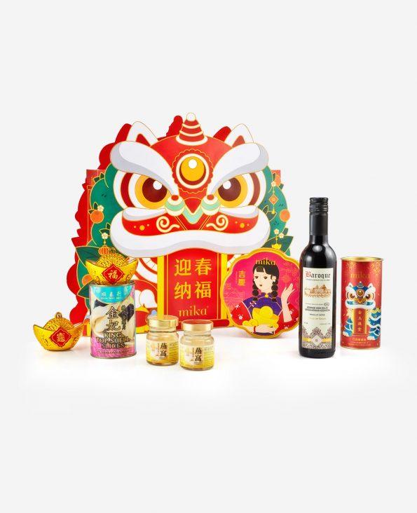 Mika CNY Gift Set - Joyful Abundance 迎春纳福 Set A