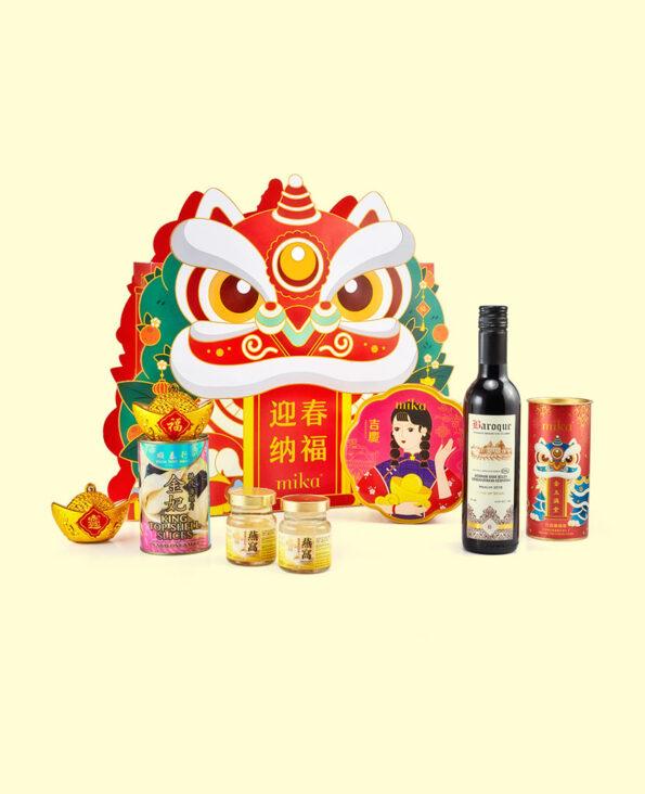 Mika CNY Gift Set - Joyful Abundance 迎春纳福