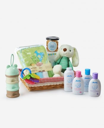 Mika Baby Full Moon Celebration Gift - A Basket Of Bliss