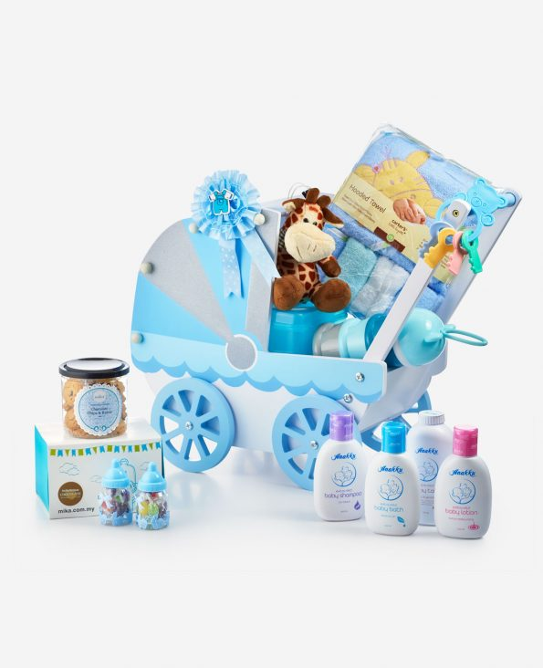 Mika Baby Full Moon Celebration Gift - A Cart Of Giggles-Blue