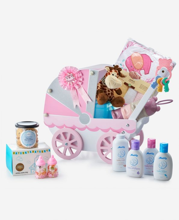 Mika Baby Full Moon Celebration Gift - A Cart Of Giggles-Pink