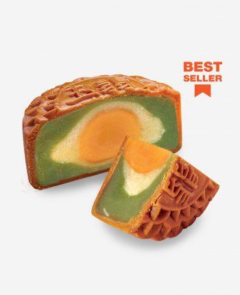 Mika 2019 Mid Autumn Moon Cake - Classic Jade Pandan