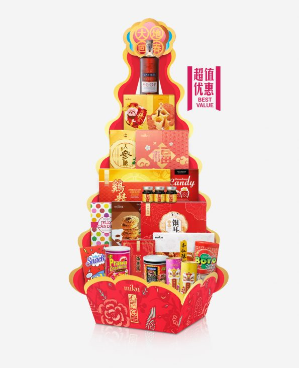 Mika CNY Hamper - Energy & Enthusiasm 万马奔驰