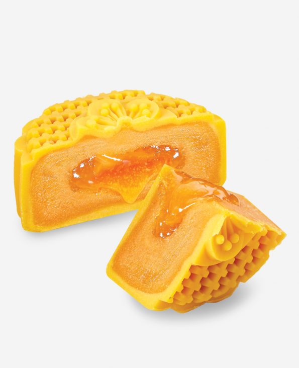 Lava Golden Butter Moon Cake 金沙奶黄月饼