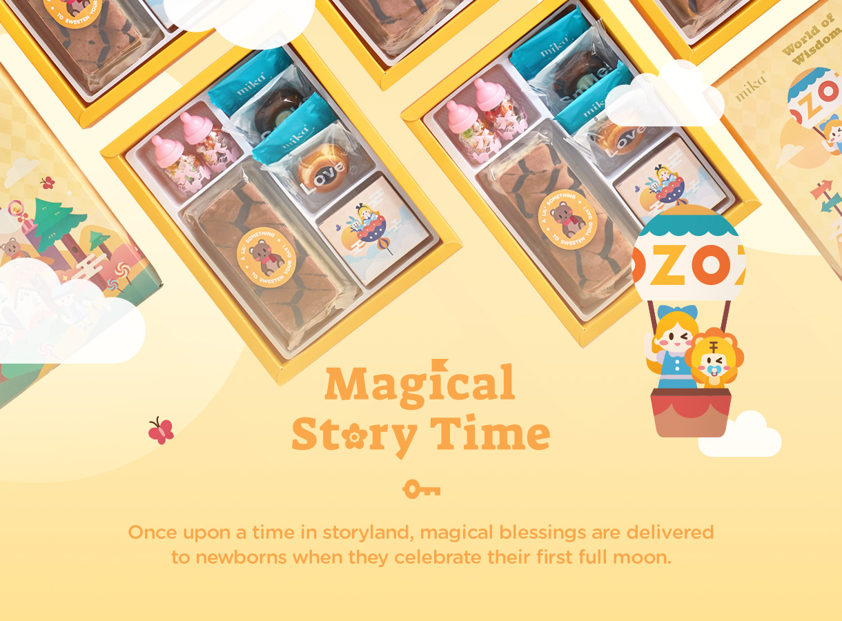 Mika Baby Full Moon Celebration Gift  – Magical Story Time