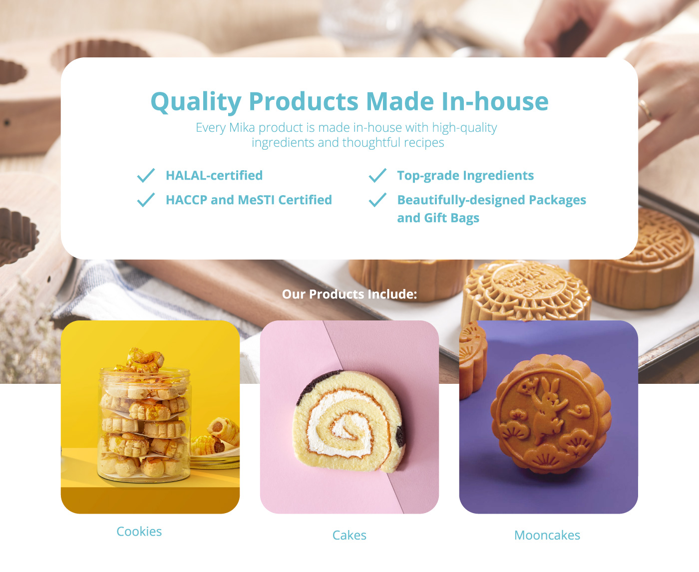 Quality Products Made In-house – Mika Premium Gift Shop
