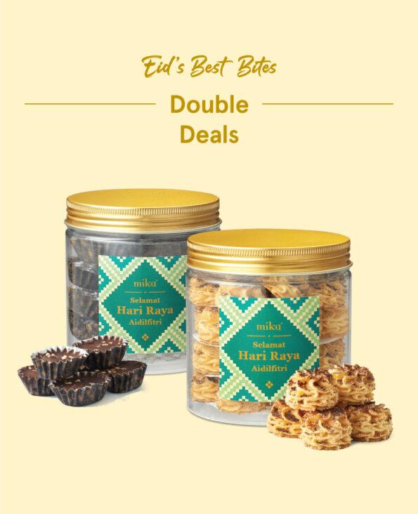 Mika Raya Cookies - Double Deals