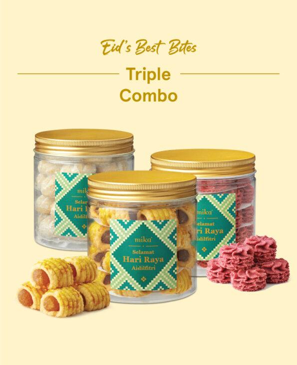 Mika Raya Cookies - Triple Combo