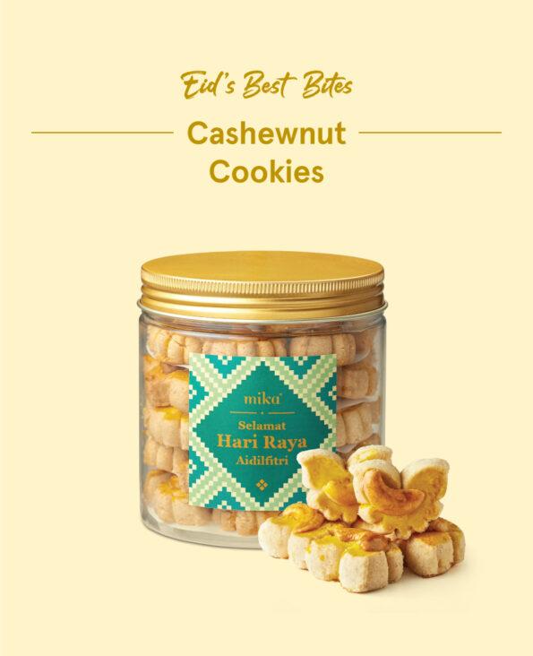 Mika Raya Cookies - Cashewnut Cookie
