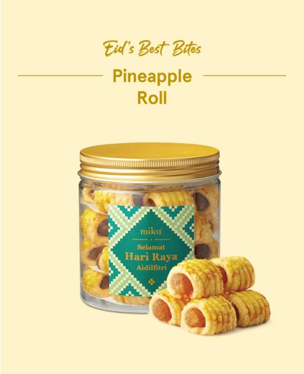 Mika Raya Cookies - Pineapple Roll