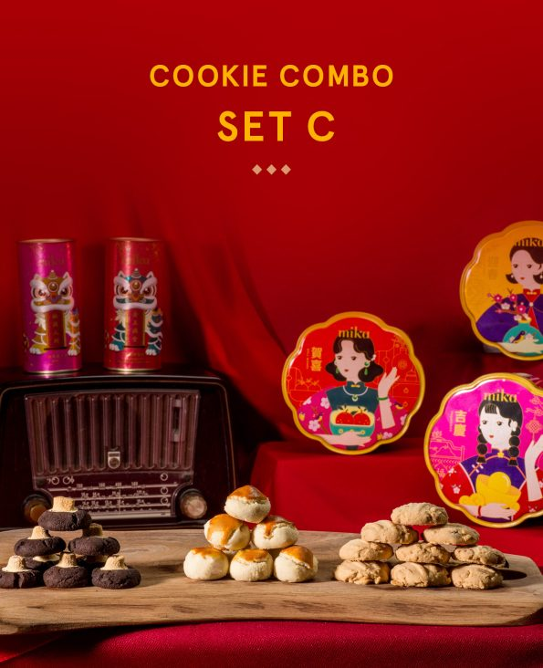 Mika CNY Cookies - Cookie Combo Set C