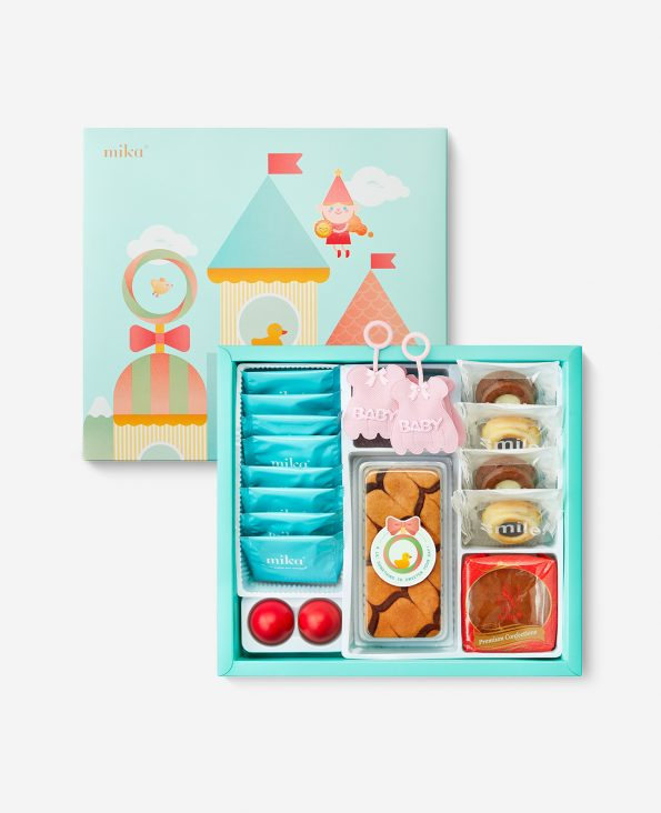 Mika Baby Full Moon Celebration Gift - Cheerful Baby Set B