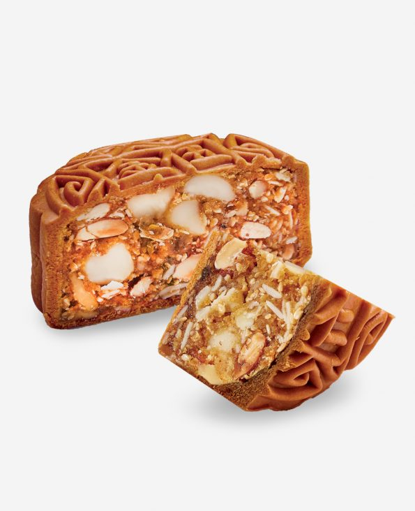 Mixed Nuts Moon Cake 至尊伍仁