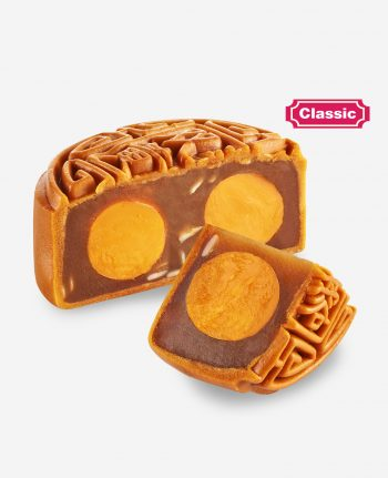 Mika 2019 Mid Autumn Moon Cake - Pure Lotus Double Yolk