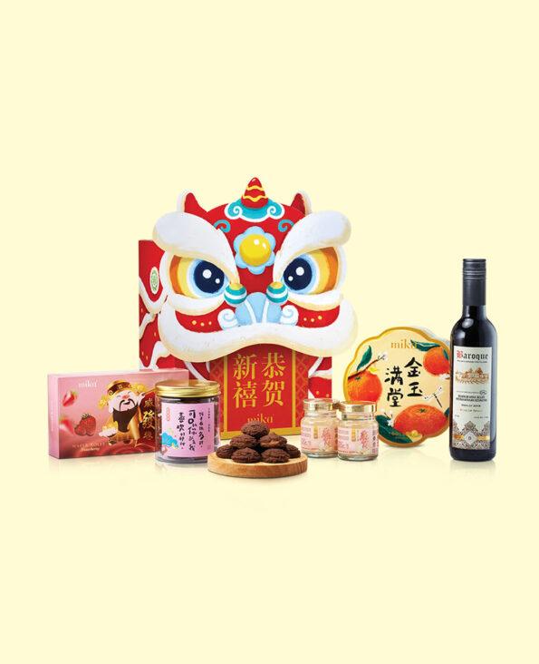 Mika CNY Gift Set - Roaring Git Set A 醒狮贺岁 A