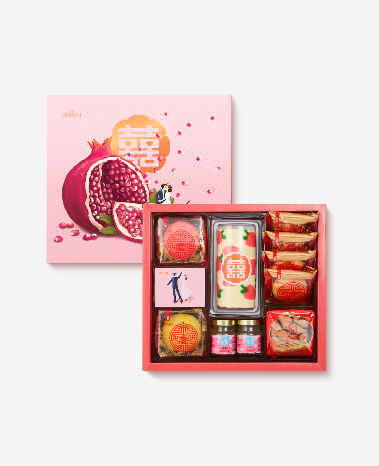 Fruitful Fertility 榴开百子 Set B Mika Premium Gift Shop